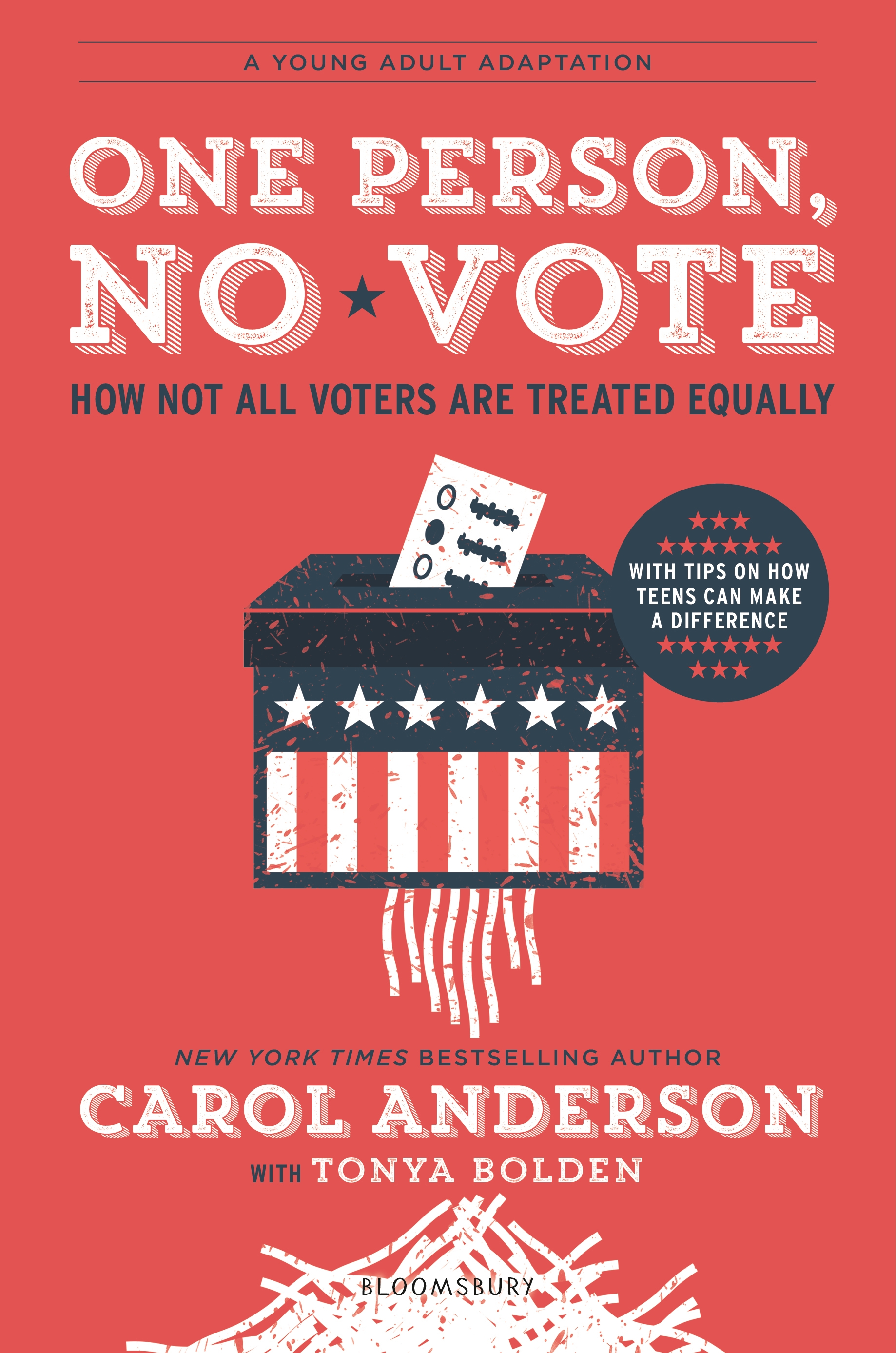"One Person, No Vote YA Edition - Carol Anderson - <span class=""date-display-single"">05/26/2020 - 11:00am</span>"