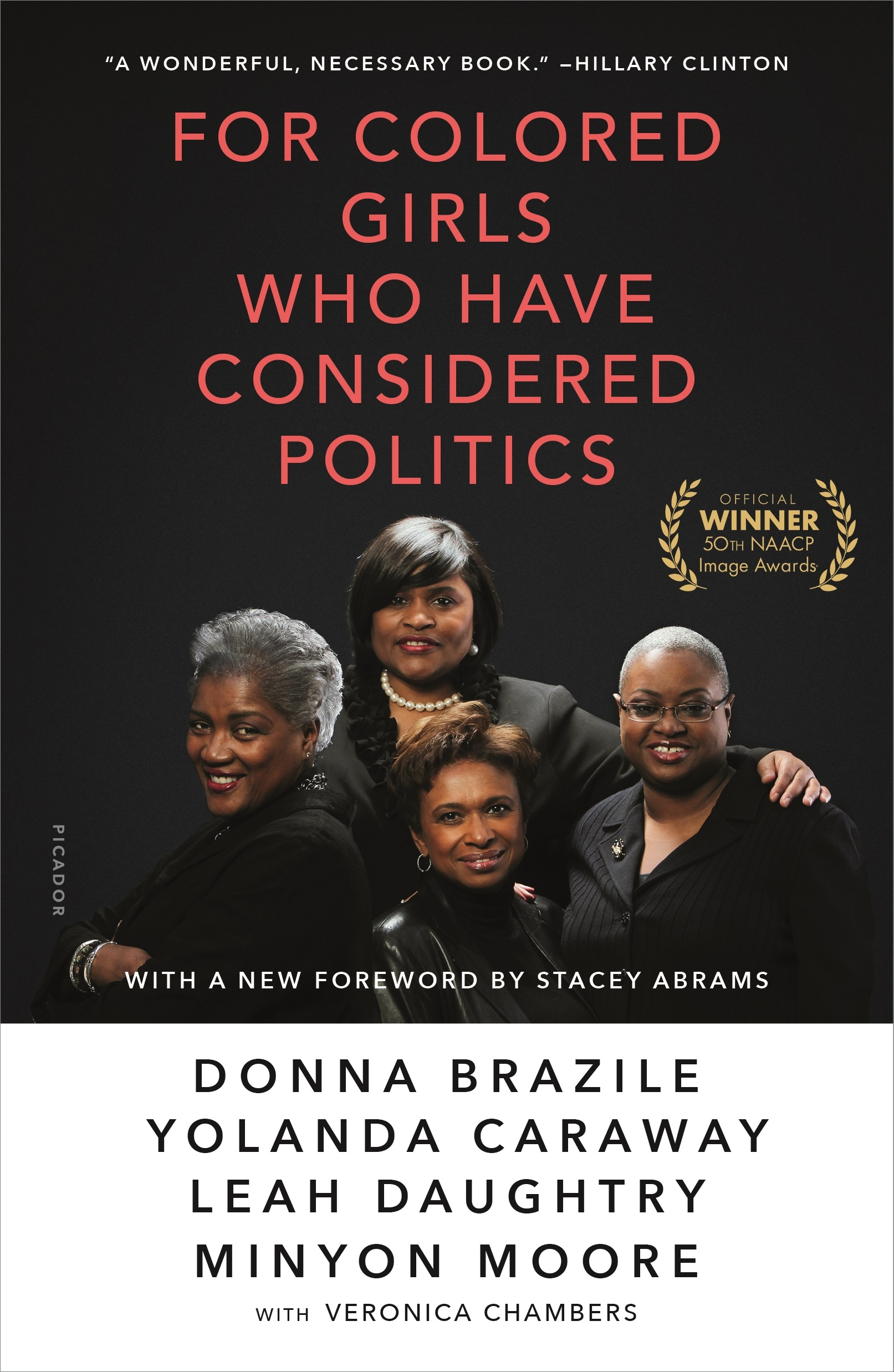 "For Colored Girls Who Have Considered Politics - Donna Brazile, Yolanda Caraway, Minyon Moore - <span class=""date-display-single"">10/19/2019 - 6:00pm</span>"