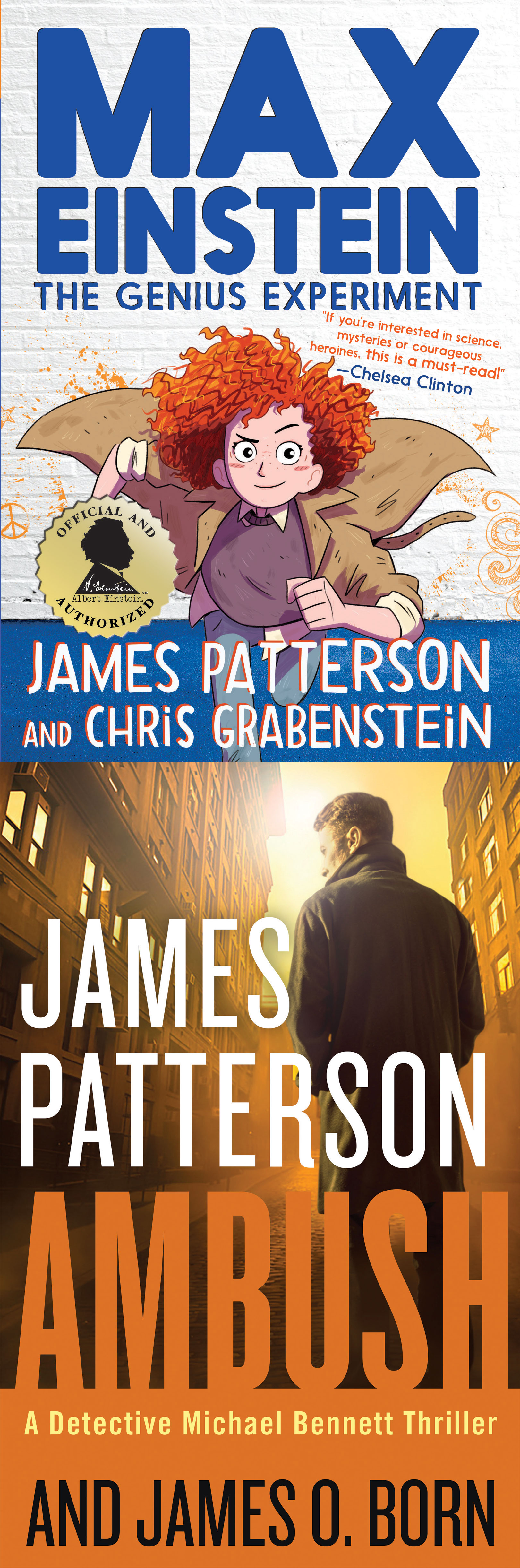 "Max Einstein: The Genius Experiment &amp; Ambush - James Patterson - <span class=""date-display-single"">10/07/2018 - 10:00am</span>"