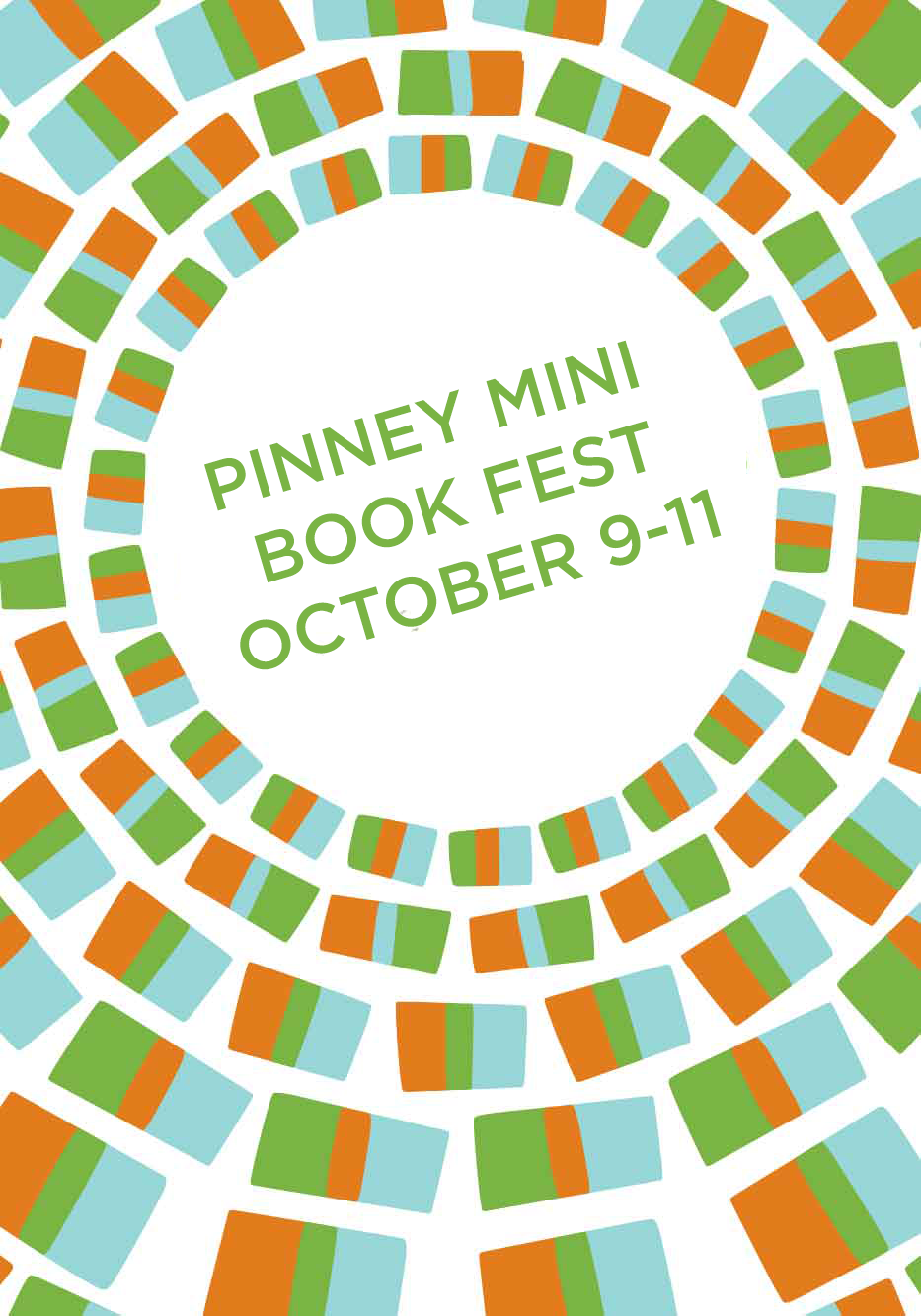 "Pinney Mini Book Fest 2015 -  - <span class=""date-display-single"">10/10/2015 - 1:00pm</span>"