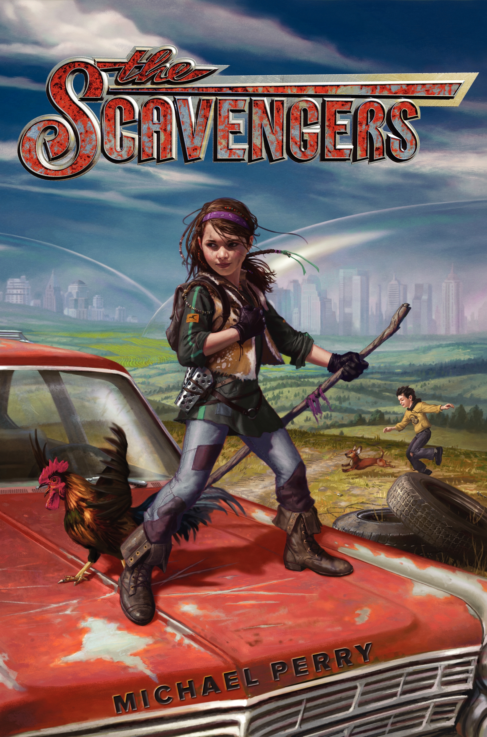 "The Scavengers - Michael Perry - <span class=""date-display-single"">10/19/2014 - 11:00am</span>"