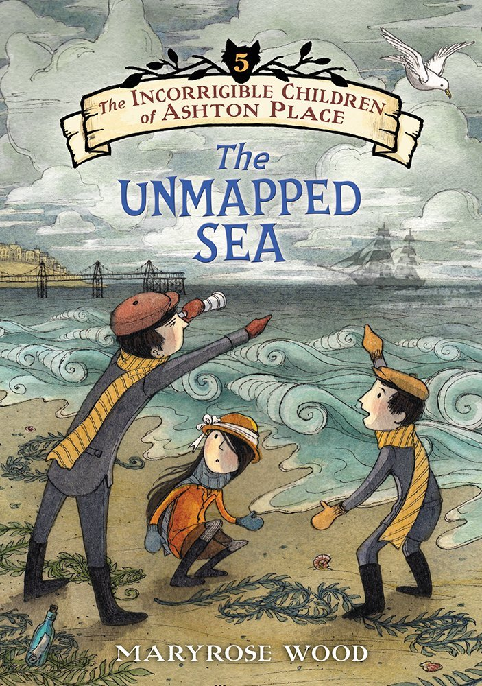 "The Unmapped Sea - Maryrose Wood - <span class=""date-display-single"">10/25/2015 - 1:30pm</span>"