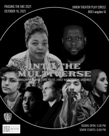 """Passing the Mic: Into the Multiverse - Mahogany Browne - <span class=""""date-display-single"""">10/16/2021 - 6:00pm</span>"""